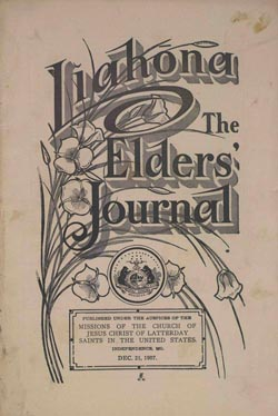 Liahona The Elders' Journal cover