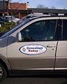 SUV with Genealogy Today Magnet