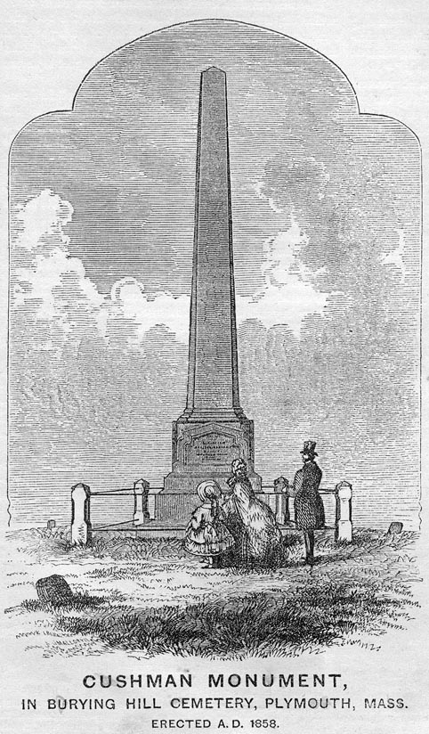 Image of the Cushman monument