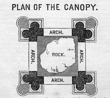 Engraving of Plan of The Canopy