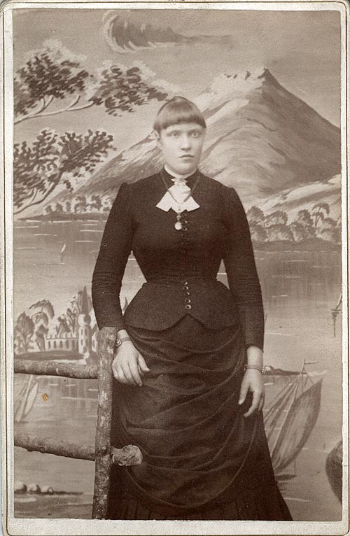 Photograph of Ida Timell
