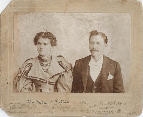 Photograph of David and Emma South