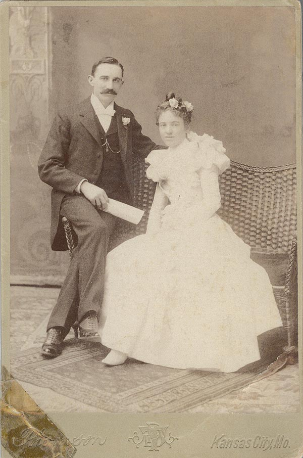 Photograph of Minnie and Frank Martin