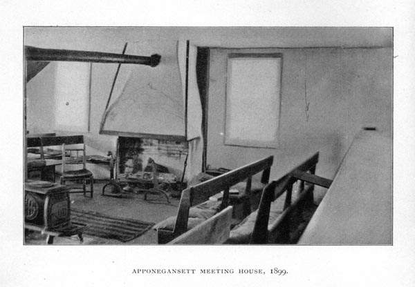 Apponegansett Meeting House Interior (View #1)