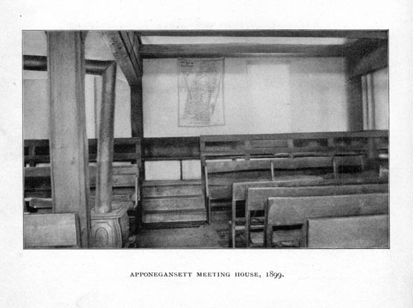 Apponegansett Meeting House Interior (View #2)