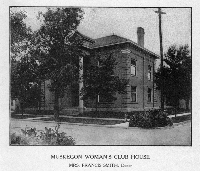 Image of The Muskegon Woman's Club House