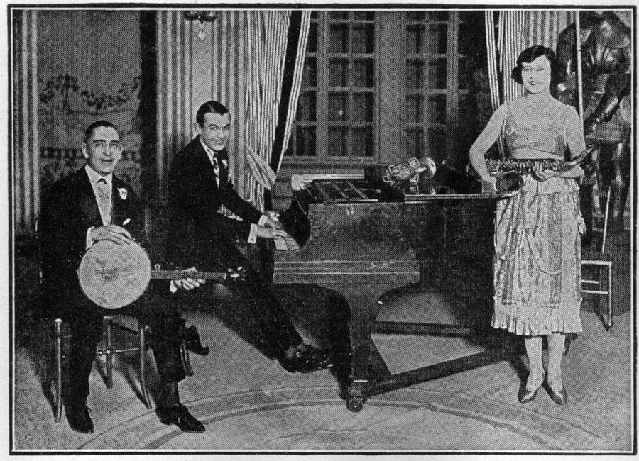 Image of Bailey and Cowen with Estella Davis