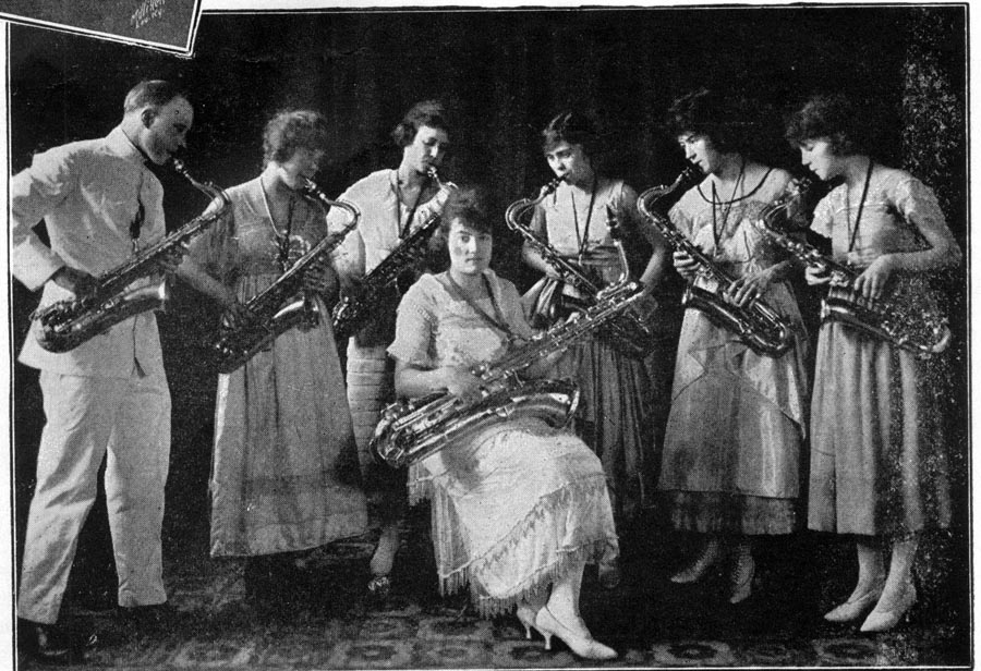 Image of Bert Brown's Saxophone Girls