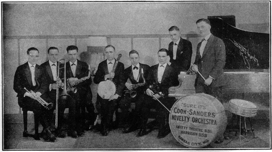Image of the Coon Sanders Novelty Orchestra