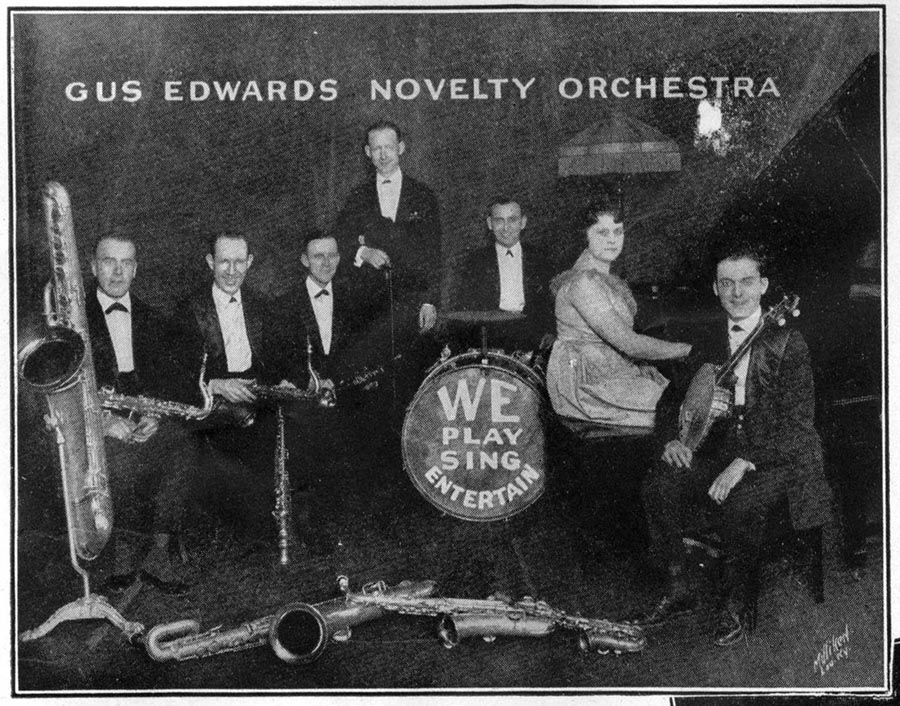 Image of Gus Edwards Novelty Orchestra