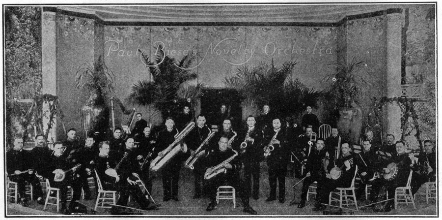 Image of the Paul Biese Novelty Orchestra