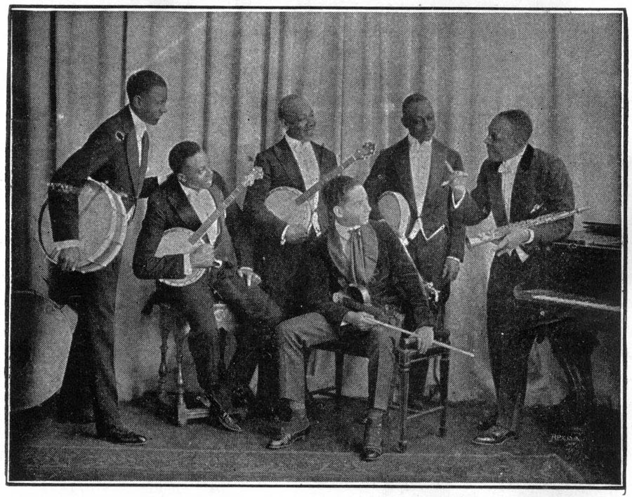 Image of J. Rosamond Johnson and His Inimitable Five