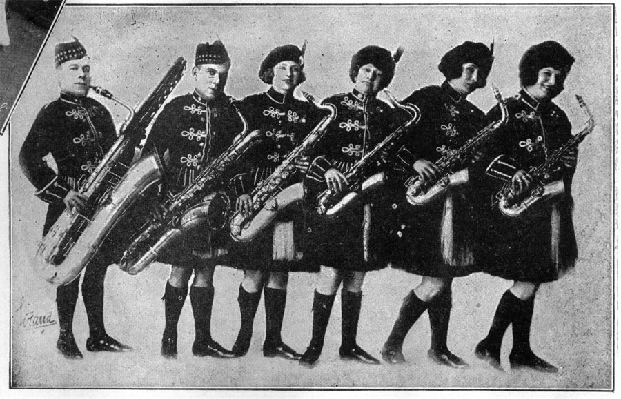 Image of the Tom Brown's Musical Highlanders