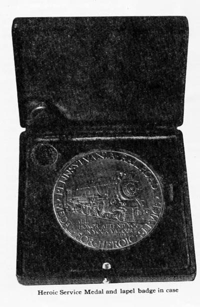 Image of Pennsylvania Railroad Honor Medal, 1926