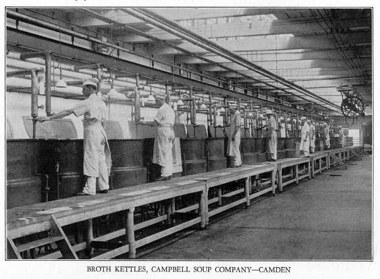 Broth Kettles, Campbell Soup Company -- Camden