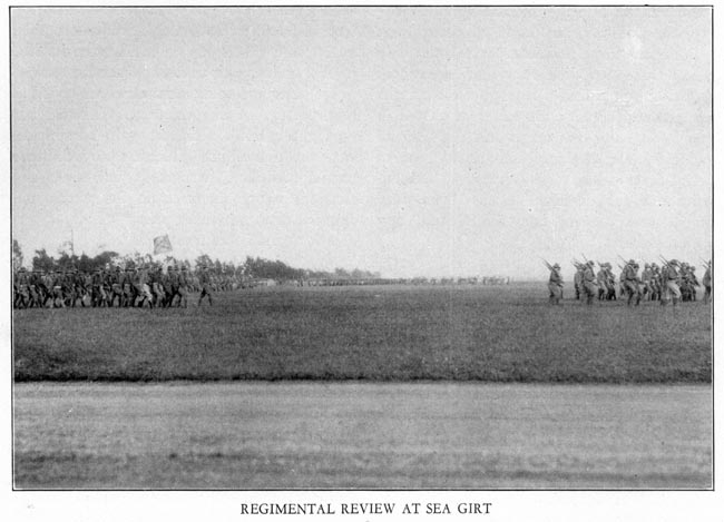Image of Regimental Review at Sea Girt