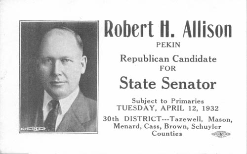 Image of Card with photo of Robert Allison