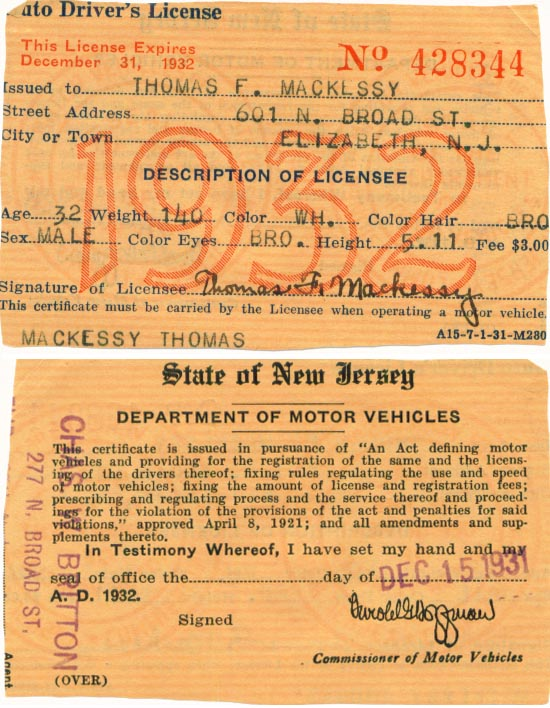 Image of License