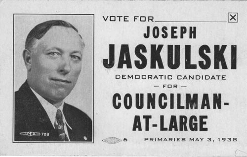 Image of Card with photo of Joseph Jaskulski