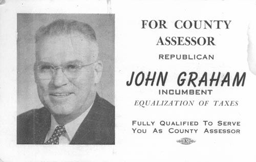 Image of Card with photo of John Graham