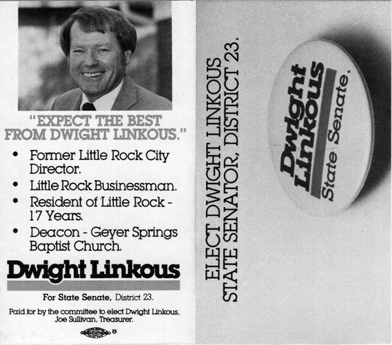Image of Card with photo of Dwight Linkous