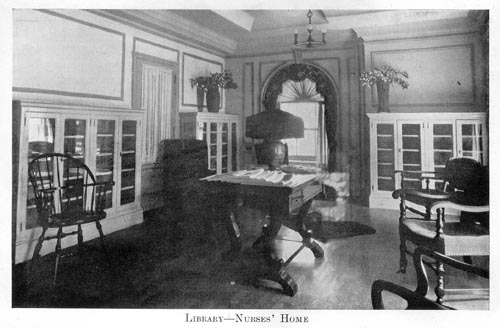 Image of Robert Packer Hospital Library in Nurses' Home