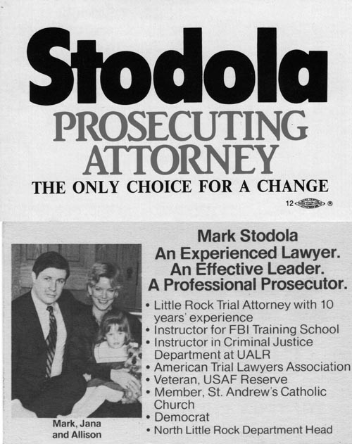 Image of Card with photo of Mark Stodola