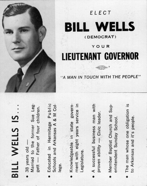 Image of Card with photo of Bill Wells