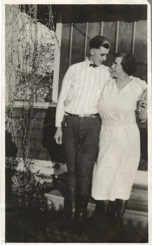 Photograph of Agnes and Buster Van Alstine