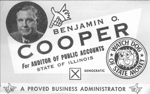 Image of Card with photo of Benjamin Cooper