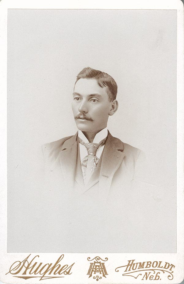 Photograph of Albert Enos