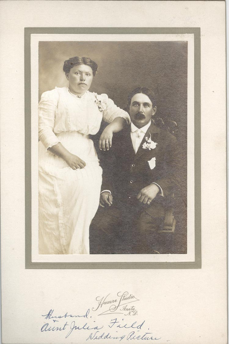 Photograph of Mr. and Mrs. Field