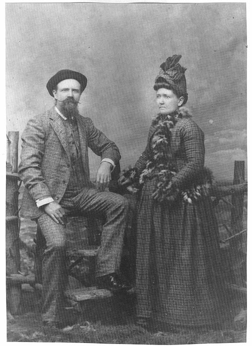 Image of Edward Mitchell Gerard and his wife