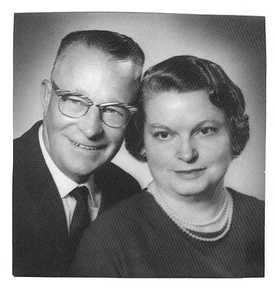 Image of Orion Garold Gilbert and his wife