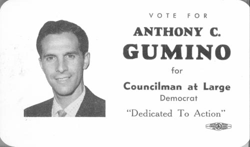 Image of Card with photo of Anthony Gumino