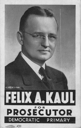 Image of Card with photo of Felix Kaul