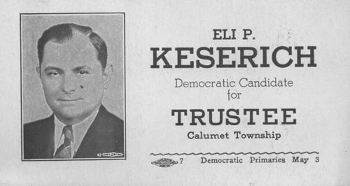 Image of Card with photo of Eli Keserich