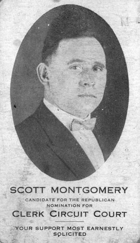 Image of Card with photo of Scott Montgomery