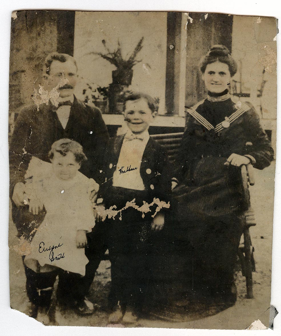 Photograph of David South and Family