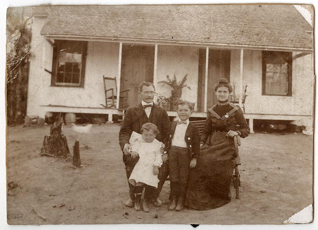 Photograph of D. F. South and Family