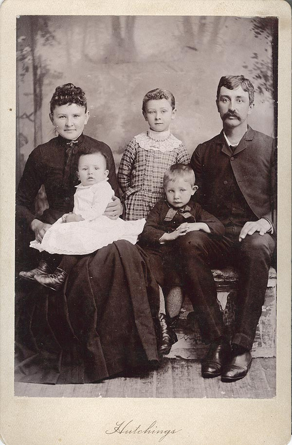 Photograph of Bill Springer and Family