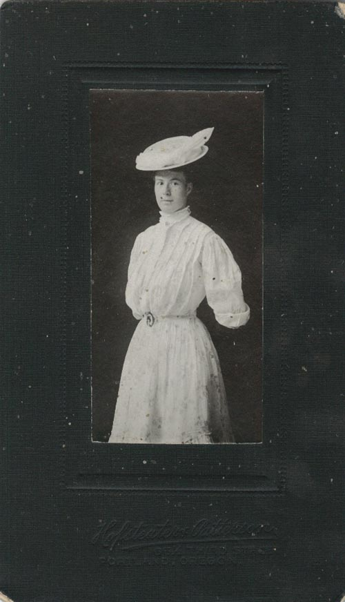 Photograph of Agnes Van Alstine