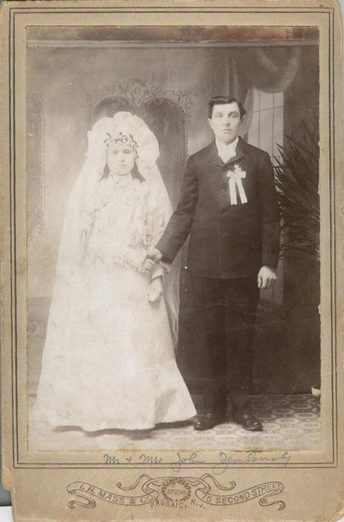 Image of John Zemlonsky and Wife