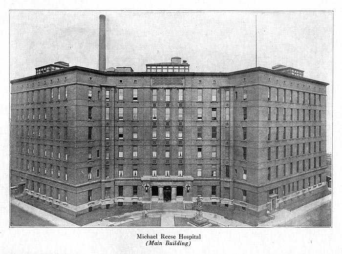 Michael Reese Hospital (Main Building)
