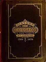 Thumbnail image of Cayuga County (NY) 1879 Biographical Sketch Index cover